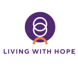 Logo living with hope